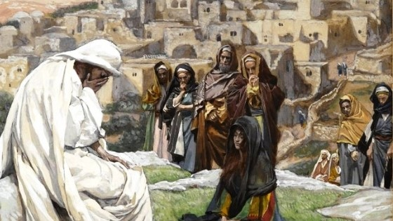 Palm Sunday - When Jesus Wept